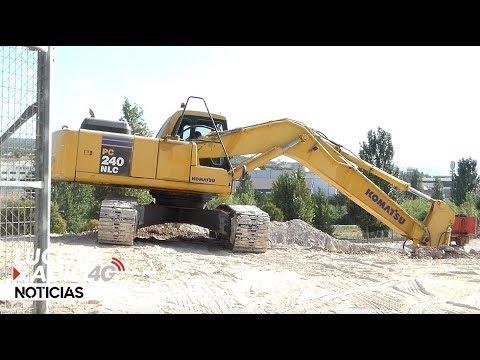 VÍDEO: Comienzan las obras del nuevo pabellÓn cubierto de la zona oeste de Lucena