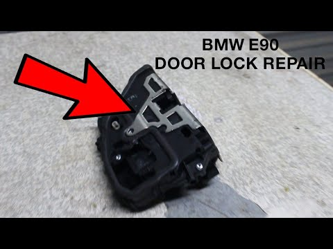 Bmw E90 Door Lock Replacement And Repair Youtube