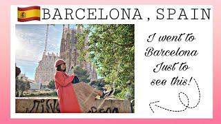 Our BARCELONA Trip VLOG 2