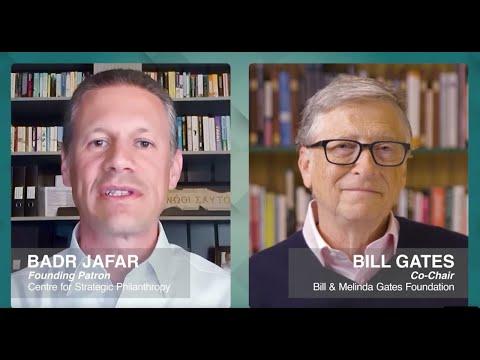 Centre for Strategic Philanthropy: A Conversation with Badr Jafar and Bill Gates