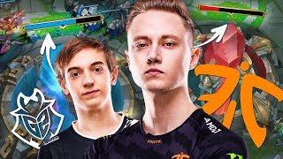 FNATIC vs G2 Esports - Voice Comms | INSANE BASERACE/BACKDOOR