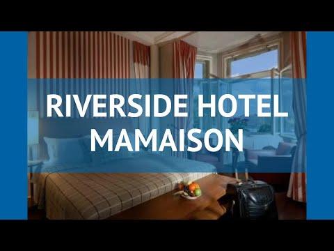 RIVERSIDE HOTEL MAMAISON 5* Чехия Прага обзор – отель РИВЕРСАЙД ХОТЕЛ МАМАИСОН 5* Прага видео обзор