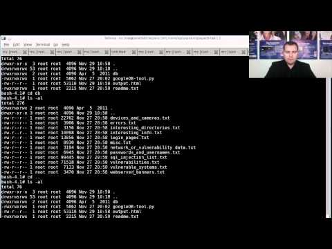 Google Hack DB Tutorial Video.mov