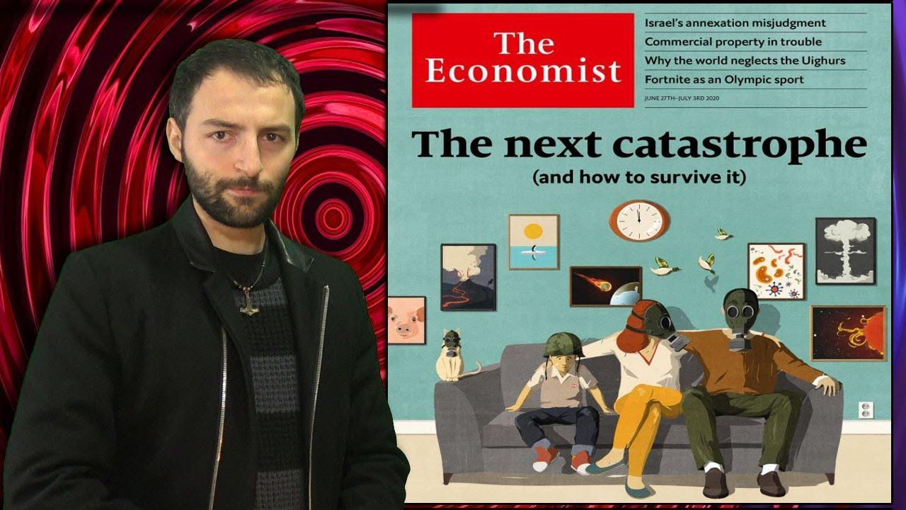 The economist y la nueva Portada que habla de LO QUE ESTÁ POR VENIR