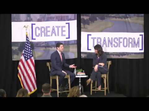 Speaker Ryan Talks Workforce Development at Catholic Charities Fort Worth