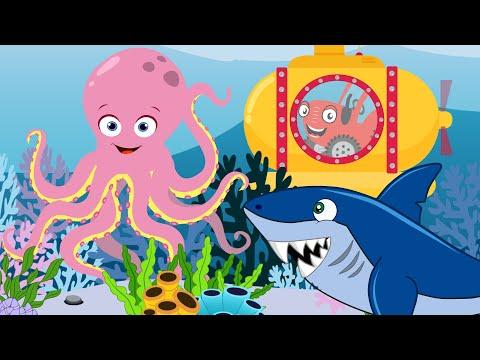 Дельфиненок - не Акуленок - Песенка про животных - Песенки для детей Тыр тыр Трактор