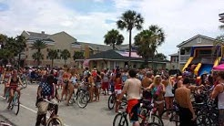 Huge Bike Party Jax Beach FL July 4th - Jacksonville Florida