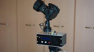 Arduino controlled Timelapse Motion controller / Panning Head thumbnail