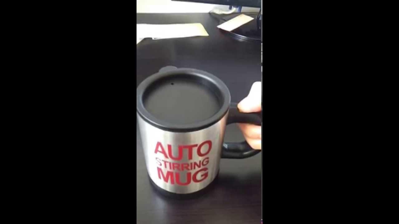 Très La tasse qui melange toute seule: le mug mixeur - YouTube NU67