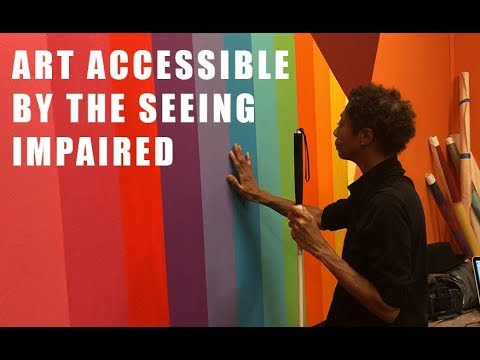 Play on interactive mural with the Colorado Center for the Blind