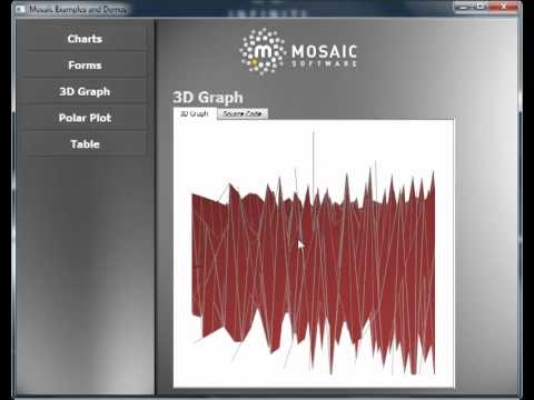 Qt Mosaic Software Demo