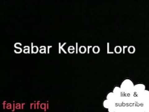 Sabar Keloro Loro