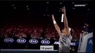 Roger Federer: Cracking Backhand AO2017