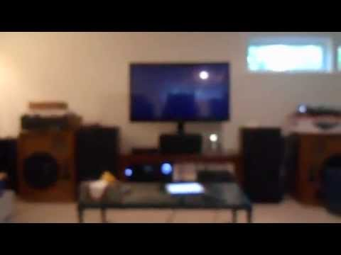 HOME THEATER SYSTEM UNLEASHED!! BASS GONE WILD!!!!