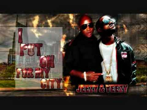 Young Jeezy Feat. Kanye West & Casely- I Put On Remix