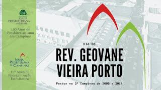Palavra do Rev. Geovane Vieira Porto