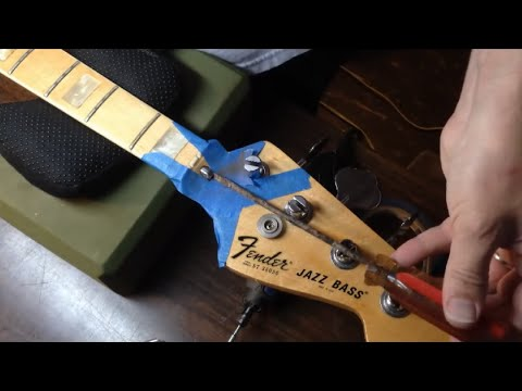 Removing a Stripped Fender Bullet Truss Rod Nut