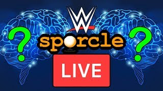 🔴 WWE SPORCLE QUIZZES LIVE!