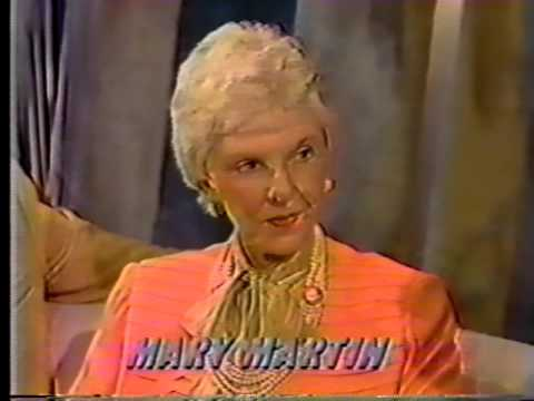 Mary Martin, 1984 TV Interview