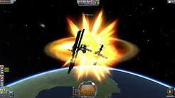 Colliding Things At Orbital Speeds in Kerbal Space Program