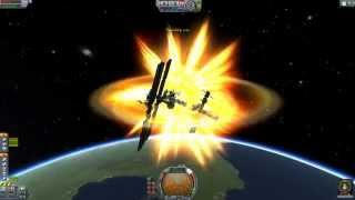Colliding Things At Orbital Speeds in Kerbal Space Program(Colliding two objects in orbit at over ten thousand kilometers per hour is hard to pull off in Kerbal Space Program, in part the instrumentation sucks, but more ..., 2015-11-30T17:30:34.000Z)
