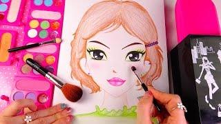 ★마이 스케치 컬렉션~예쁜 화장하기♥MAKEUP KIT TOY!!Your own makeup play set★メイクアップおもちゃセット