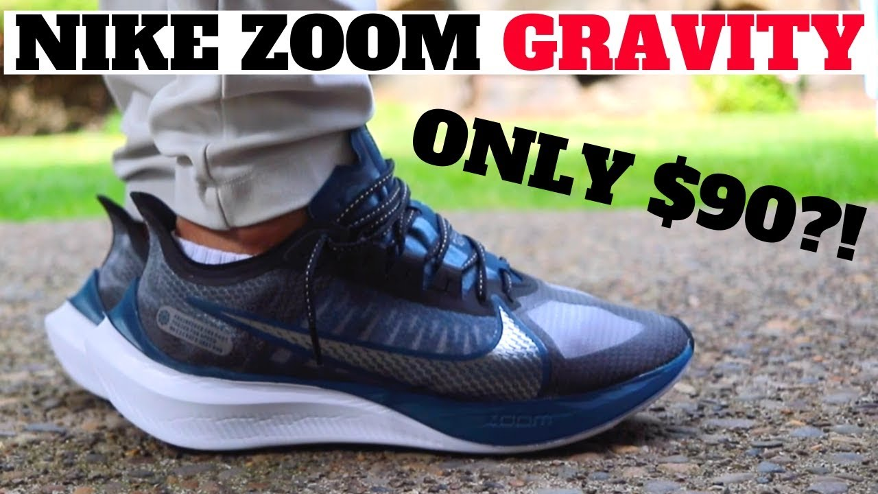 WORTH BUYING? NIKE ZOOM GRAVITY REVIEW! $90 vs PEGASUS 36 & TURBO 2