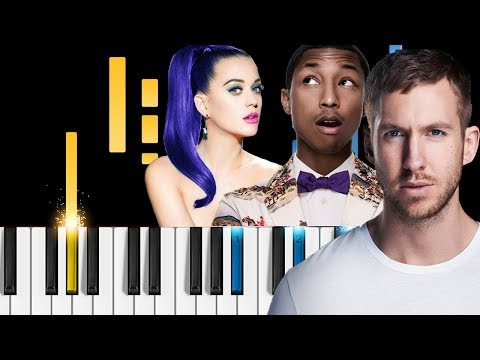 Calvin Harris - Feels (ft. Pharrell Williams, Katy Perry & Big Sean) - Piano Tutorial