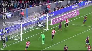 Barcelona vs Athletic Bilbao 2-1 2014 → RESUMEN & GOLES ← Barcelona 2:1 Athletic Bilbao ~ 20-04-2014