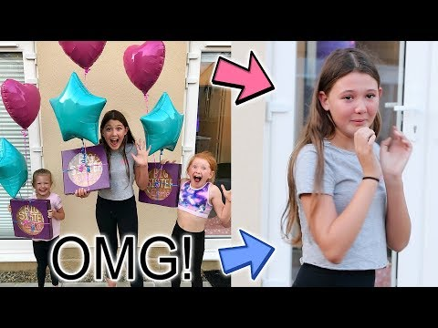 EMOTIONAL PREGNANCY REVEAL TO OUR GIRLS! + FAMILY!