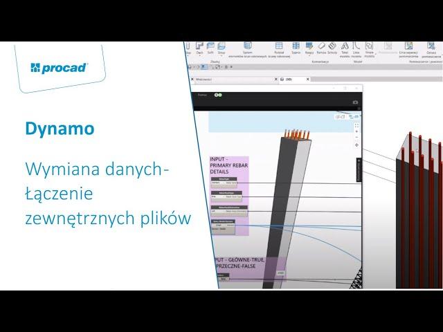 Dynamo: Wymiana danych – Łączenie zewnętrznych plików