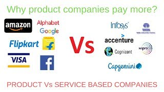 Why product companies pay more? Product vs service based company