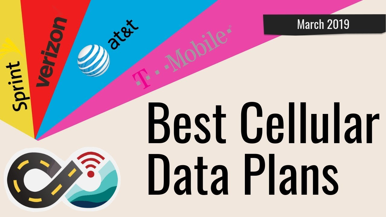 Best Data Plans 2019 Best Cellular Data Plans for RVers & Cruisers   Verizon, AT&T, T