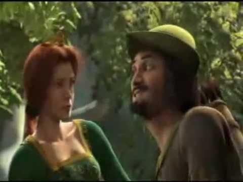 Shrek Robin Hood scene