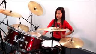 Best GIRL Drummer in the World! 12 Yr Old Kills on Drums ! Amazing