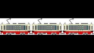迷列車で行こう 電停編 名鉄モ780形