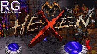 Hexen - Sega Saturn - Intro & First World Gameplay [720p 60fps]