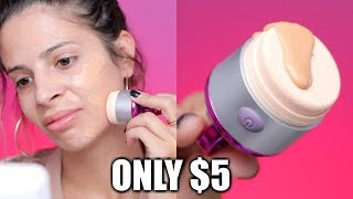 $5 VIBRATING FOUNDATION SPONGE | FLAWLESS FOUNDATION