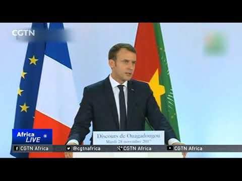 Macron: France will no longer dictate to Africans