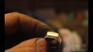 How To Make Ring From Brass Pipe