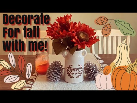 Cozy fall inspiration | cook, clean, and decorate with me