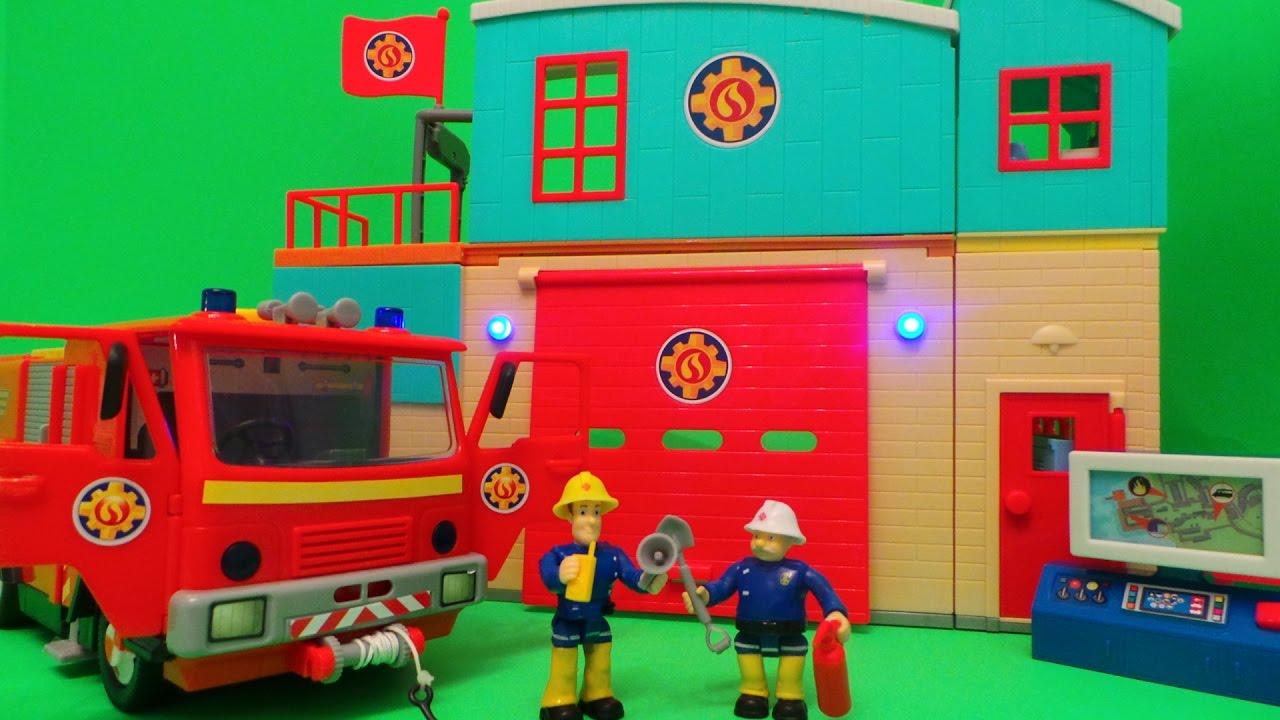 Feuerwehrmann verschiebt uk