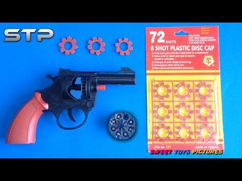 Toy Cap Gun Revolver - Loud weapon Toy