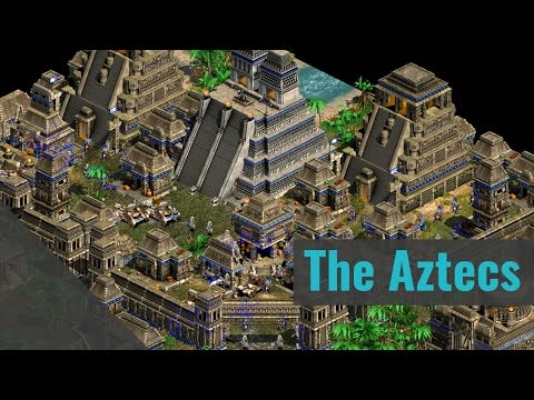 AoE2 HD The Aztecs 2v2 Black Forest Conquest (Dutch)