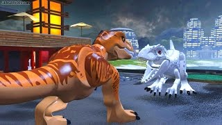 LEGO Jurassic World gameplay 🎮 JW Movie FINAL + commentary