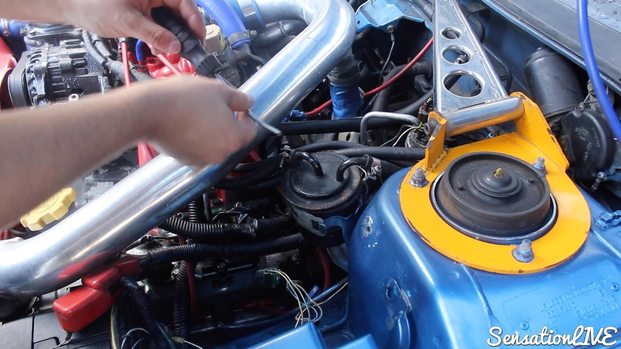 HOW TO CHANGE A FUEL FILTER ON A SUBARU IMPREZA CLASSIC 1998 - YouTube | Wrx Fuel Filter |  | YouTube