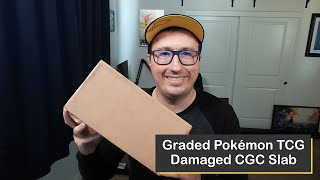 Repaired Graded Pokémon TCG Slab from the Certified Guaranty Company (CGC)! #Shorts