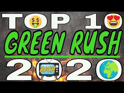 TOP 10 GREEN RUSH STOCKS 2020 💫
