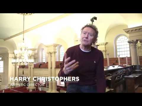 Harry Christophers Discusses The Great Bach Concertos and Cantatas