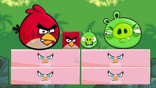 Angry Birds Kick Pigs - GAMEPLAY PIG VS STELLA KICKING GAME!